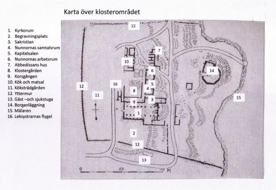 Karta Vårfruberga kloster