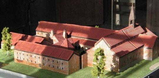 Kloster modell