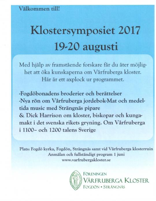 Klostersymposium 2017