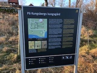 Ny skylt Kungsberg