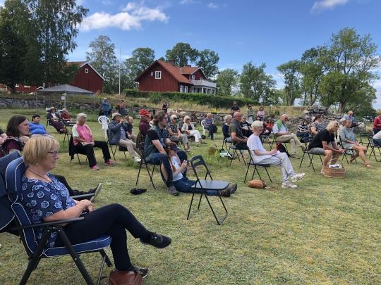 Klostrets dag 2020 coronasäker publik