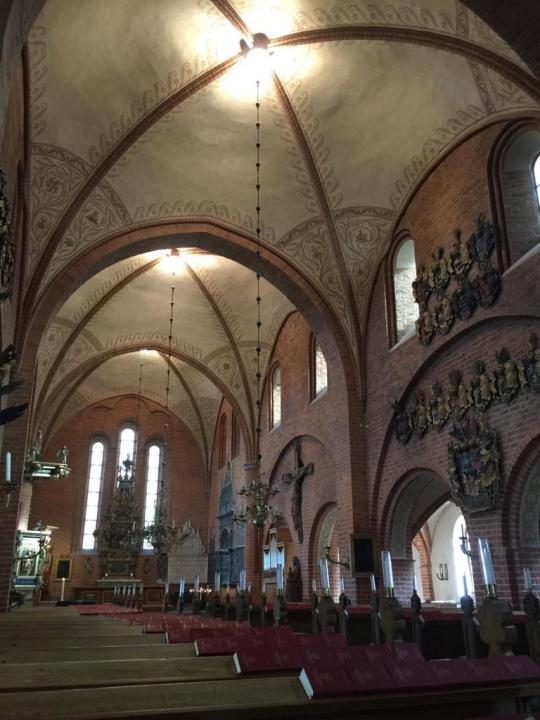 Studieresa Sko klosters kyrka